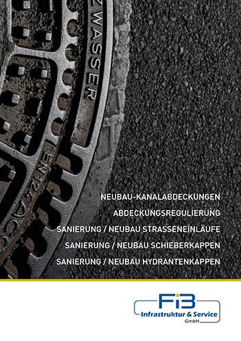 Broschüre für Abwasserschachtsanierung